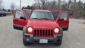 2003 Jeep Liberty Sport 3.7L V6 4x4 With Emission Test