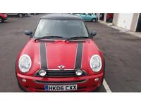 2006 06 MINI ONE 1.6 WITH PEPPER PACK.GREAT EXAMPLE WITH FULL SH.2 KEYS,LOW INS.