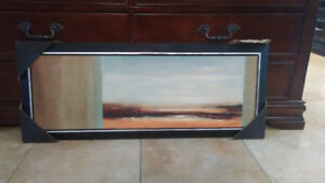Wall Art - Framed Painting - View to an Horizon