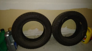 Michelin x ice 155/80R13 winter rated tires