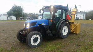 **REDUCED PRICE**2010 New Holland T4050F 95 hp 4x4
