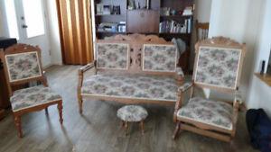 Set de salon antique