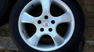 Rims and tires for sale, 205/55/16