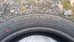 3 winter tires / pneu hiver Honda Civic 2013