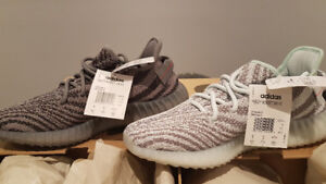 Authentic Adidas Yeezy Boost 350 V2 Blue tint and Grey
