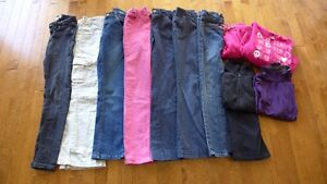 Size 10 girls pants and jeans (7+ for $20)
