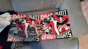 Billy Talent - Afraid of Heights (2 vynils + 2 cds + posters)