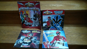 4 Power Rangers children's picture books