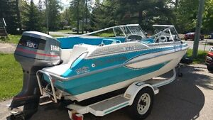 Glastron 17 foot runabout (Outboard 130hp)