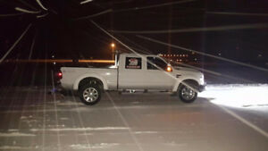 2010 F350 loaded with wheel lift