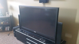 "55"" Panasonic projection tv and theater system"