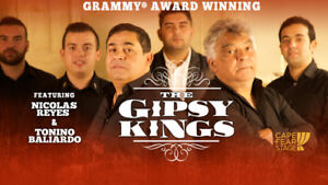 GIPSY KINGS FRONT ROW CENTER FLOORS/PARTERRE 1ere RANGEE -ROW AA