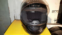 HJC CLY D.O.T.  full face helmet 1 large AND 1 medium
