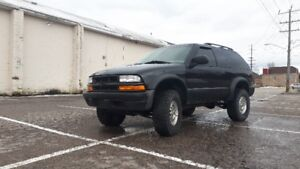 2001 chevy blazer zr2 manual transmission