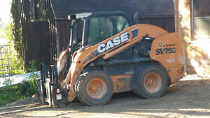 Rental Skidsteer - 2011 CASE SV250