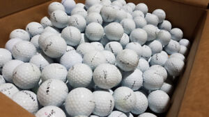 Thousands of used Titleist Tour Soft Range balls for sale!
