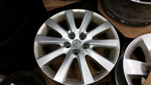 "OEM 17"" Mazda 5 alloy rims in very good condition"