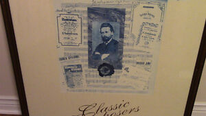 For the Classical Music Fan: 3 Very Large Framed Art Prints Kitchener / Waterloo Kitchener Area image 4