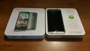 HTC One M8 with Otterbox Symmetry Case Plus Extra's