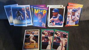 Darryl Strawberry MLB cards(14)