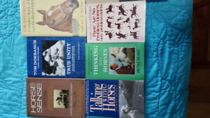 Horse training books. Lot two