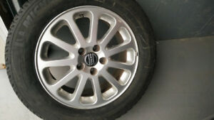 Winter tires on Alloy RIMS - OEM VOLVO