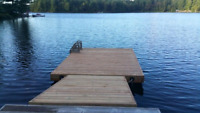 Dock removal and installation