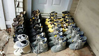LOT OF BURTON 2015 16 pairs of women's snowboard boots