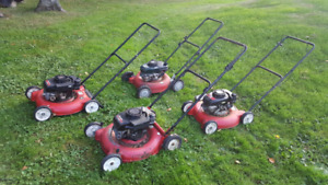 Parts lawnmowers