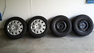 Goodyear Nordic Tires with rims