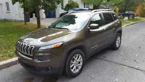 2015 Jeep Cherokee North 4X4 8993 KM. Garantie plan OR incluse