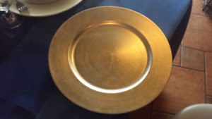 Used Charger Plates