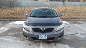 2010 Toyota Corolla Sedan- Excellent Condition - LOW KMS!