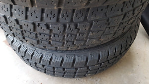 205/65/16 Snow Tires perfect for Camry, Sonata or similar.