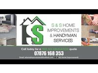 S&S Home Improvments & Handyman Service Improving your home inside and out