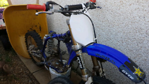 2003 YZ450F Project