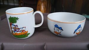 Disney Donald Duck Mug & Bowl - Vista Alegre