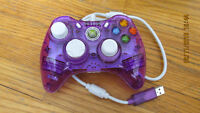 xbox 360 rock candy controller purple