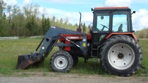 1994 BELARUS  5150 4x4 tractor with cab and ALLIED  loader