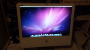 """20"""" iMac with Intel Core 2 Duo Processor and Webcam for Sale"""