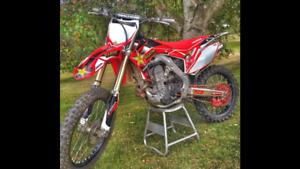 clean crf450r