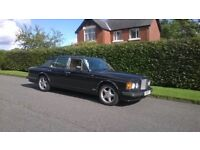 BENTLEY TURBO R 1995 service histroy £9995
