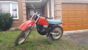 Suzuki dr125 late 80s