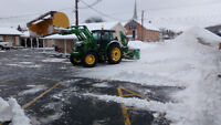 SNOW Removal / Tractors for Rent