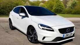 2018 Volvo V40 T3 150hp R-Design Pro Auto wit Automatic Petrol Hatchback