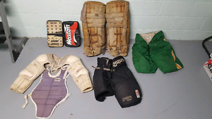 Misc goalie equipment for sale
