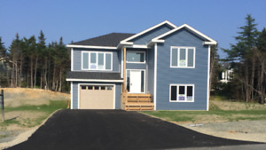 Beautiful Raised Bungalow/Large Attached Garage In Portugal Cove