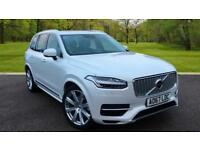 Volvo XC90 T8 Twin engine 5 door Crystal White