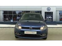 2017 Volkswagen Polo 1.2 TSI Match Edition 5dr DSG Petrol Hatchback Auto Hatchba