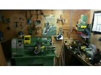 Warco WM 240 metalwork lathe and mini mill drill plus extras